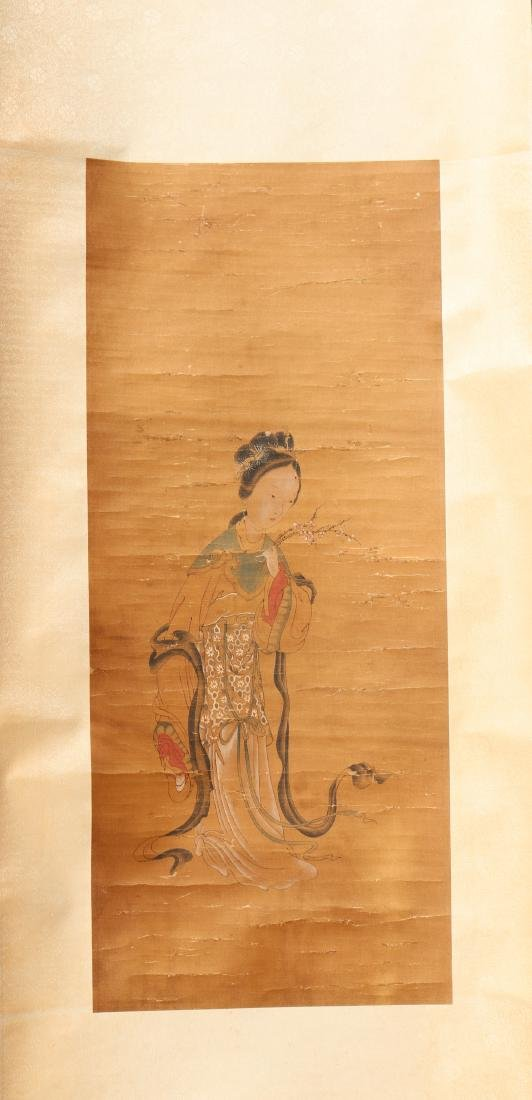 A Chinese Scroll Painting (Anonymous )