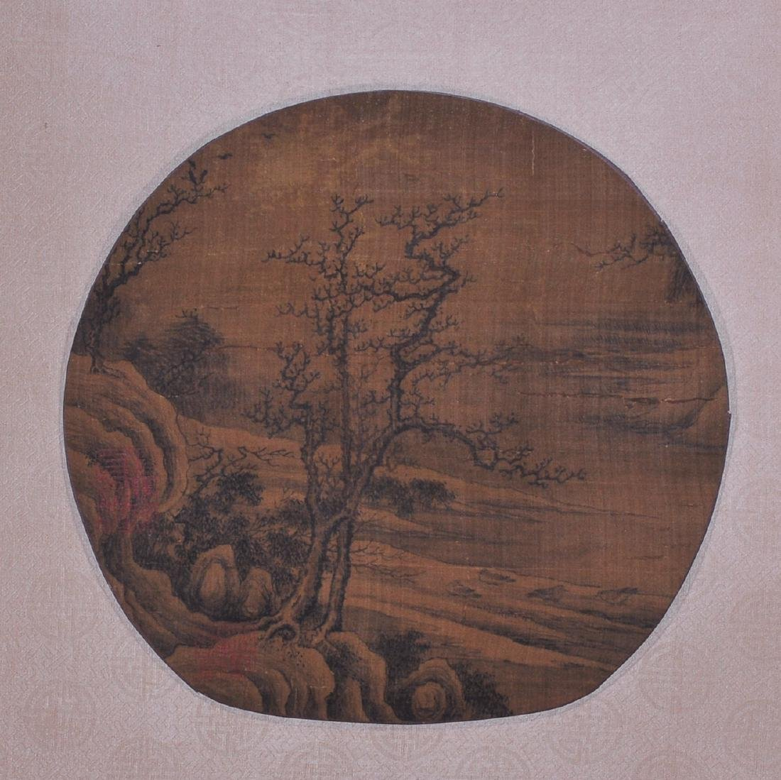 Anonymous  (SCROLL PAINTING ON SILK)