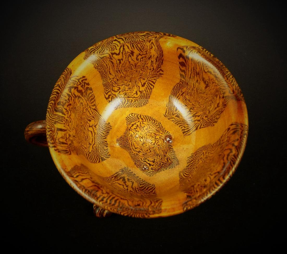 Late Tang Dynasty Yellow Glaze with Beast Foot Cup - 2