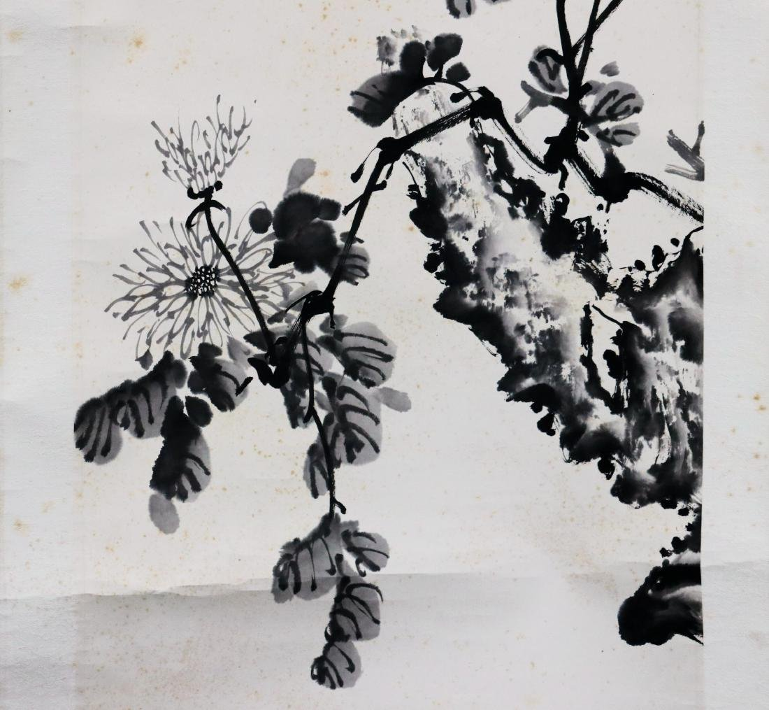 Vintage Chinese Scroll Painting - 2