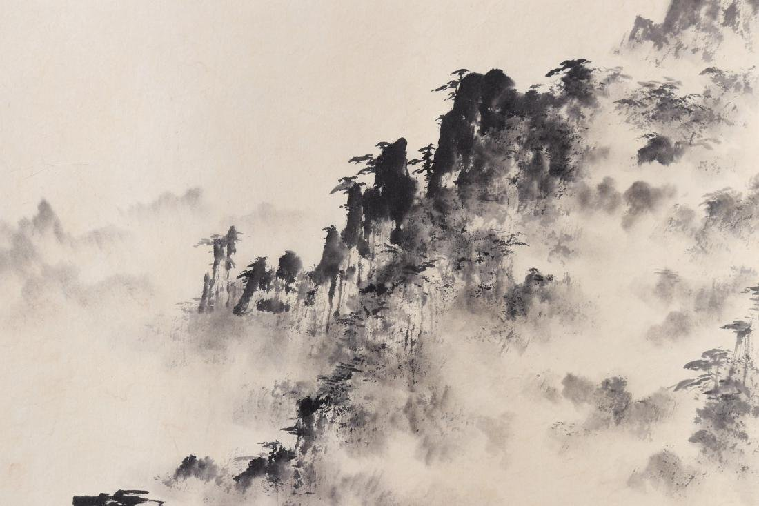 Attributed to Dong Shouping (Chinese Scroll Painting) - 3