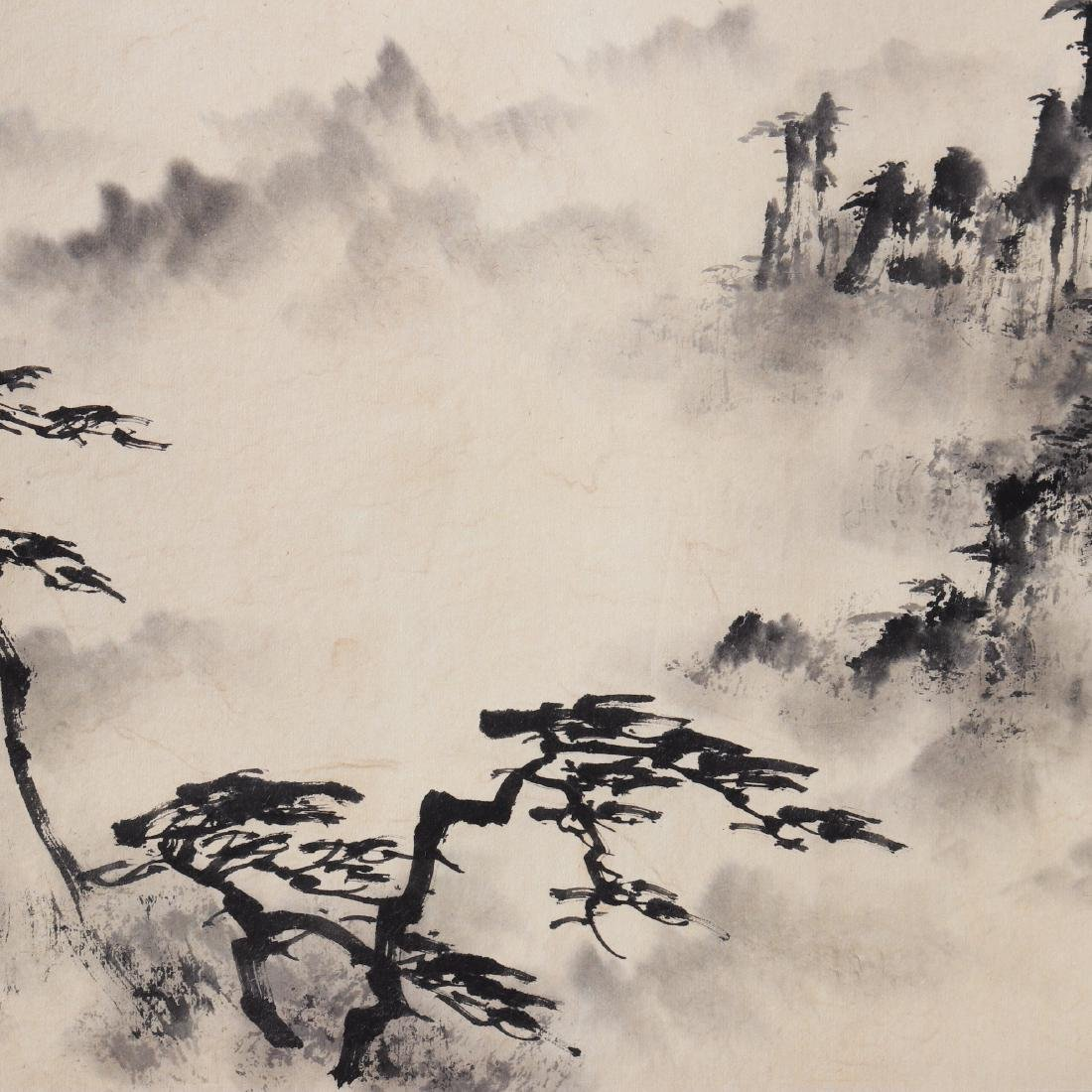 Attributed to Dong Shouping (Chinese Scroll Painting) - 4