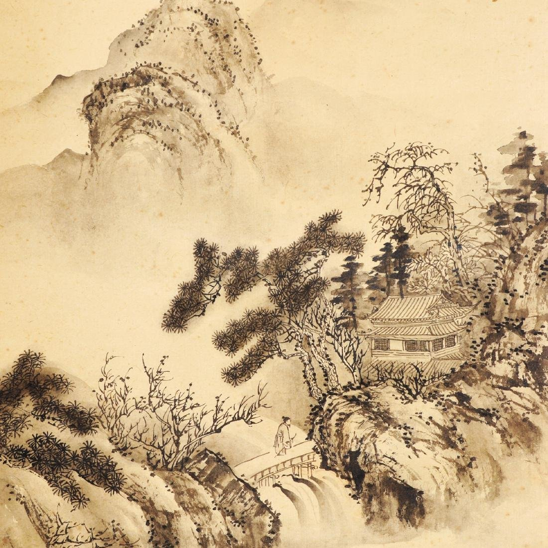 Attributed to Wu Dacheng (Chinese Scroll Painting) - 2