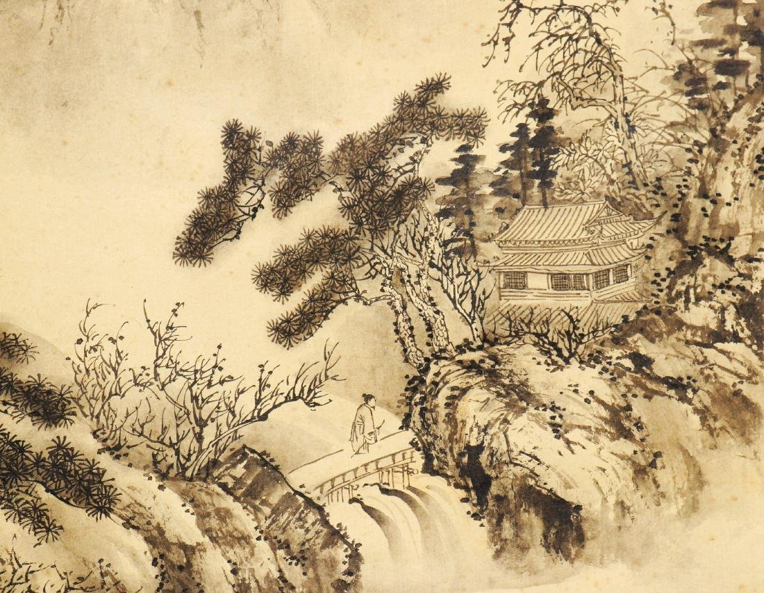 Attributed to Wu Dacheng (Chinese Scroll Painting) - 3