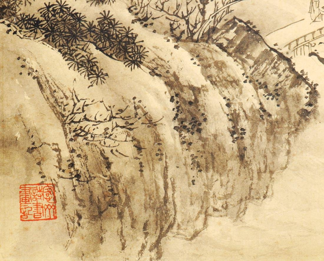Attributed to Wu Dacheng (Chinese Scroll Painting) - 4