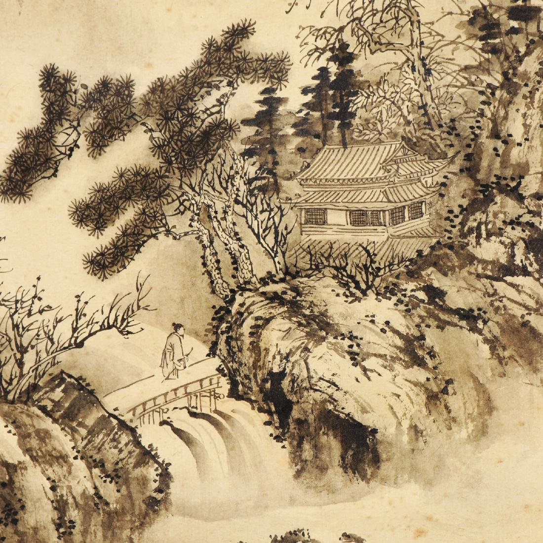 Attributed to Wu Dacheng (Chinese Scroll Painting) - 7