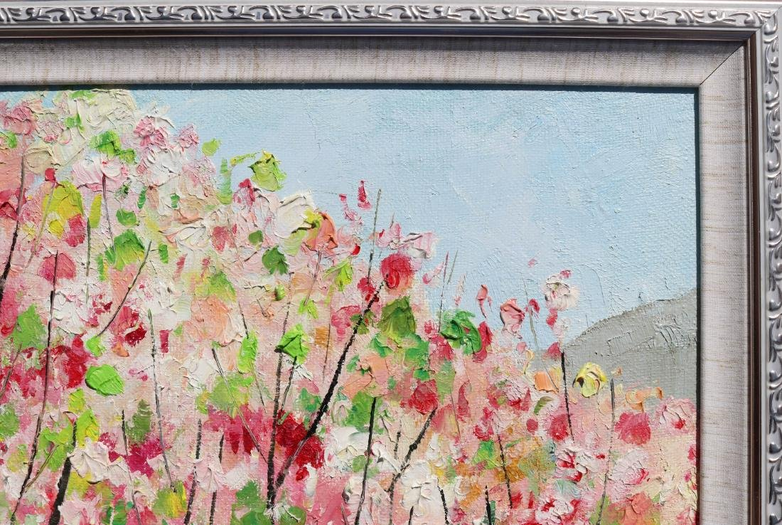 Attributed to Wu Guanzhong (Chinese Oil Painting) - 10
