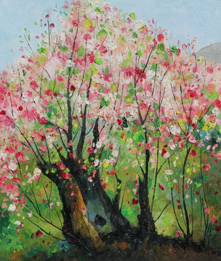 Attributed to Wu Guanzhong (Chinese Oil Painting)
