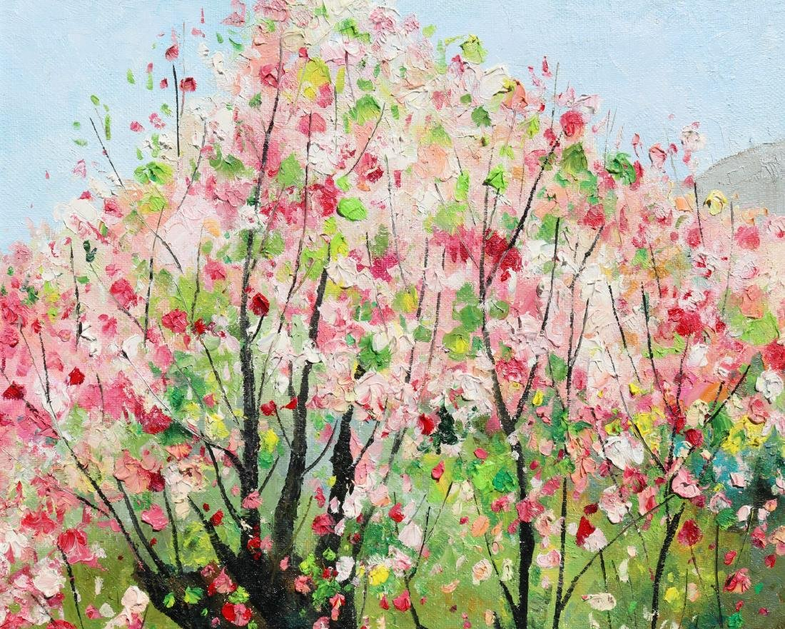 Attributed to Wu Guanzhong (Chinese Oil Painting) - 4