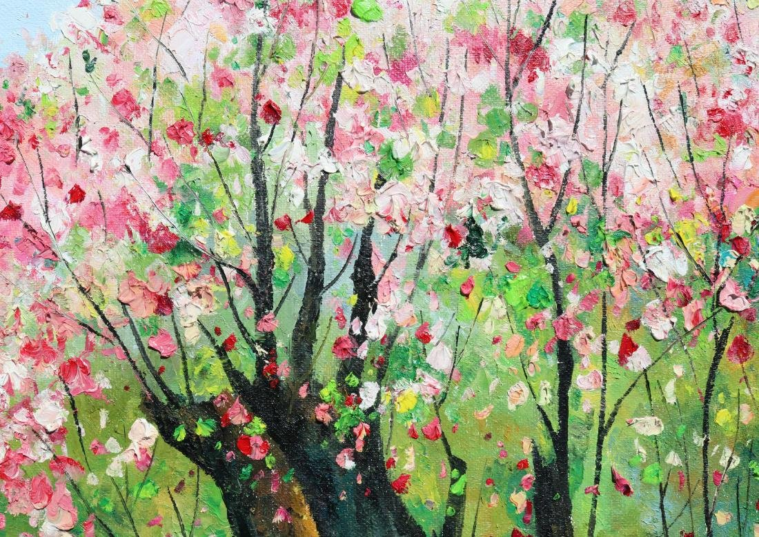 Attributed to Wu Guanzhong (Chinese Oil Painting) - 6