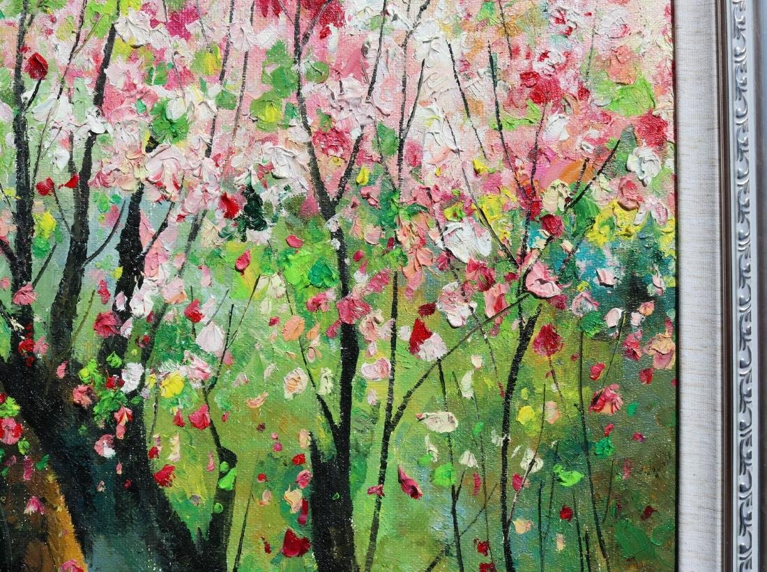 Attributed to Wu Guanzhong (Chinese Oil Painting) - 7