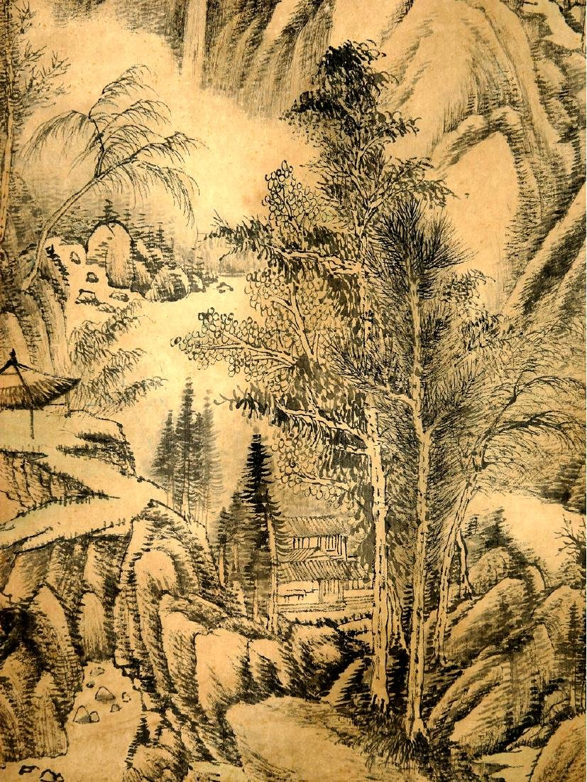 ATTRIBUTED TO QIANLONG (Chinese Scroll Painting) - 4