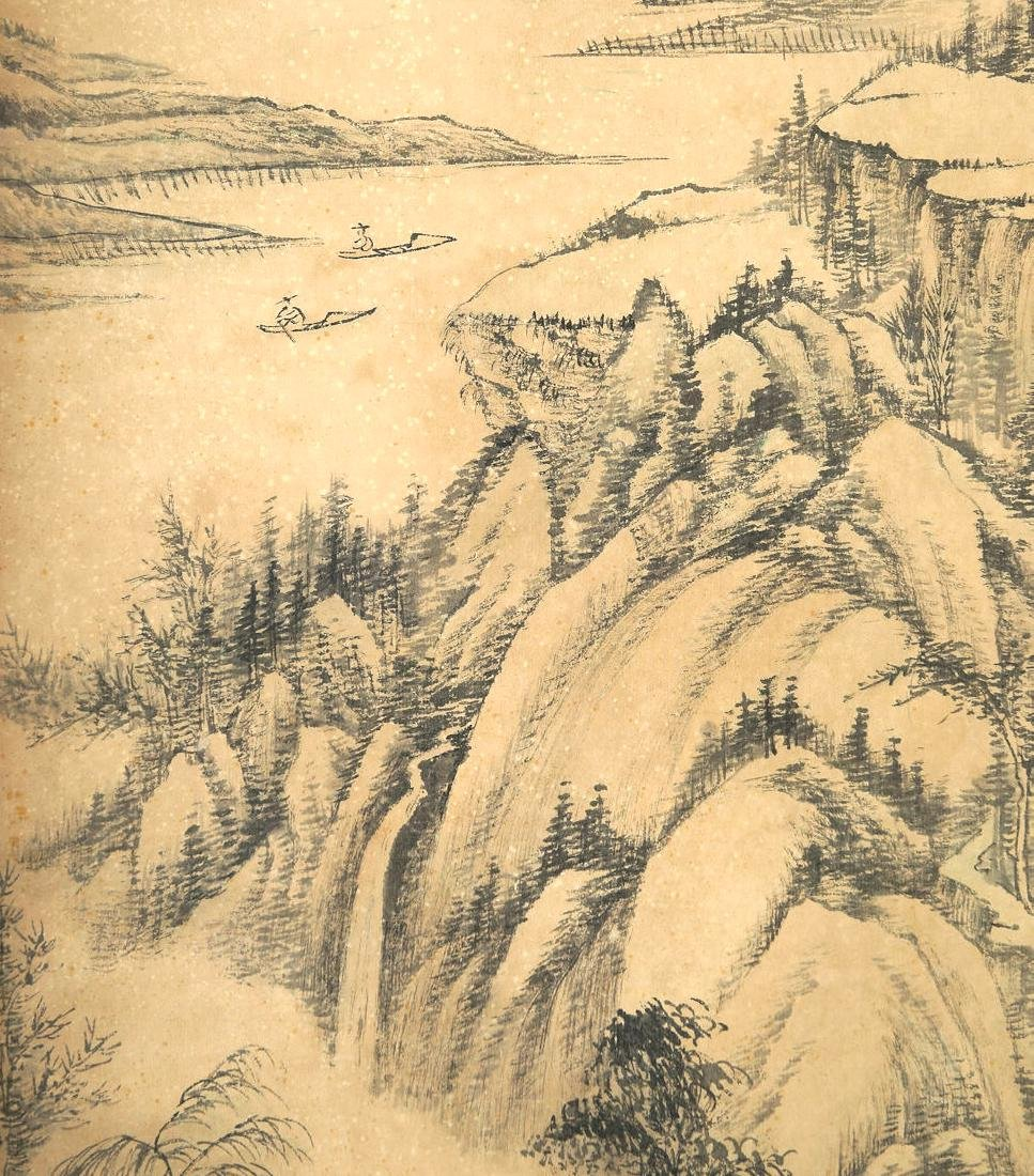 ATTRIBUTED TO QIANLONG (Chinese Scroll Painting) - 5