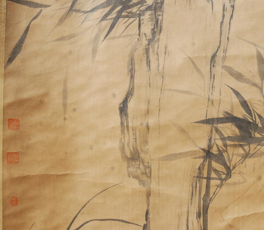 Attributed to Gao fenghan (Chinese Scroll Painting) - 6