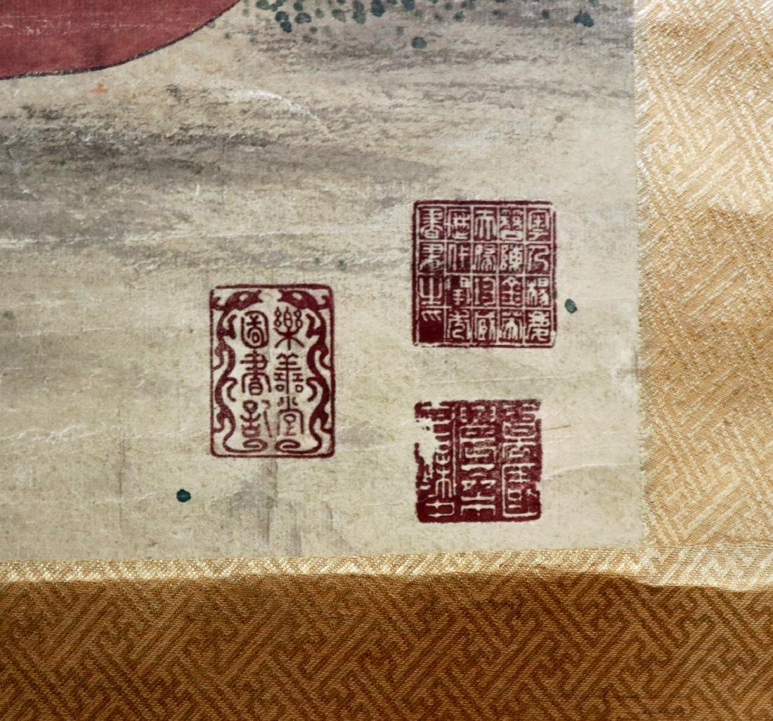 Vintage Chinese Scroll Painting - 6