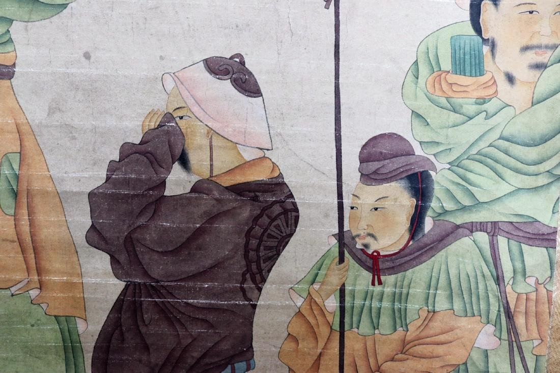 Vintage Chinese Scroll Painting - 9