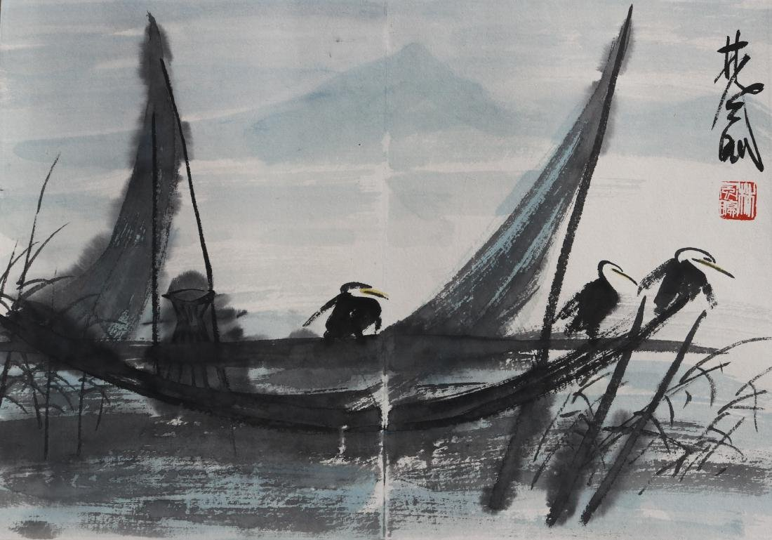 Attributed to Lin Fengmian 林风眠