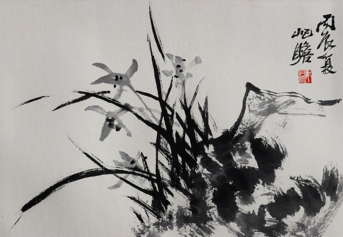 Attributed to Zhu QiZhan (Chinese Painting)