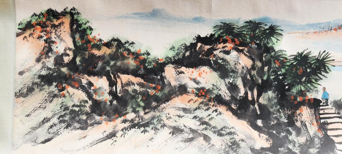 Attributed to Guan Shanyue (Chinese Scroll Painting) - 3