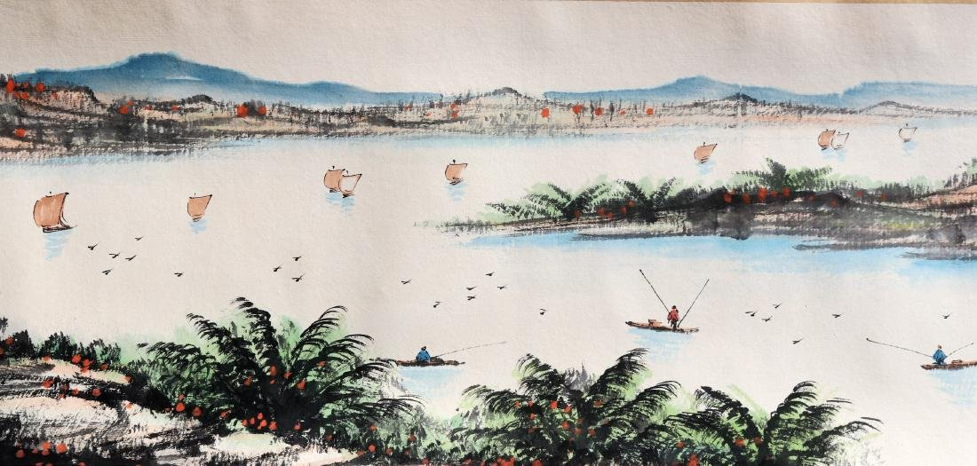 Attributed to Guan Shanyue (Chinese Scroll Painting) - 5
