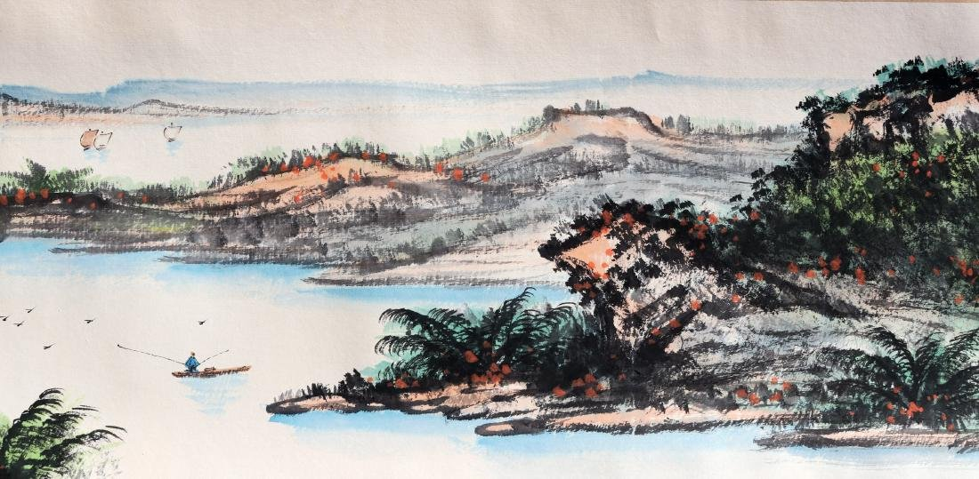 Attributed to Guan Shanyue (Chinese Scroll Painting) - 6