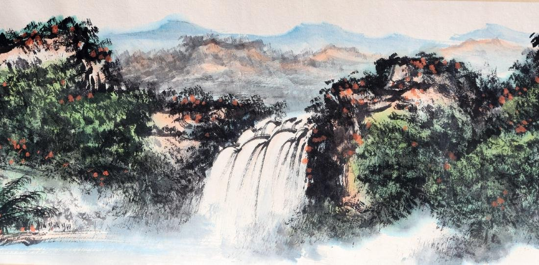 Attributed to Guan Shanyue (Chinese Scroll Painting) - 7