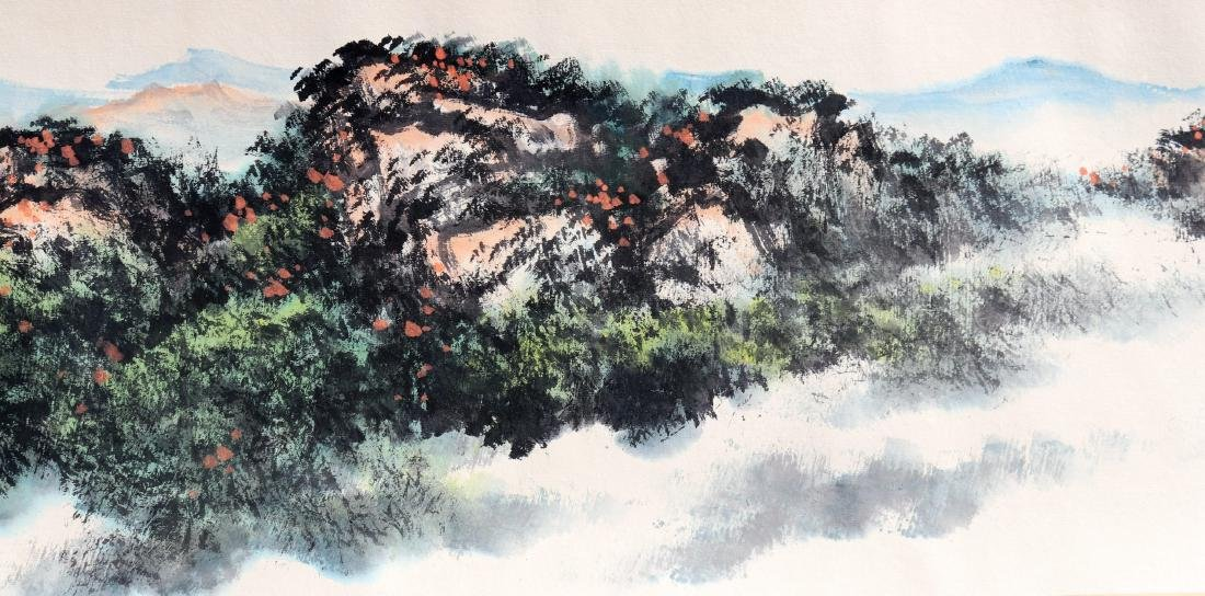 Attributed to Guan Shanyue (Chinese Scroll Painting) - 8
