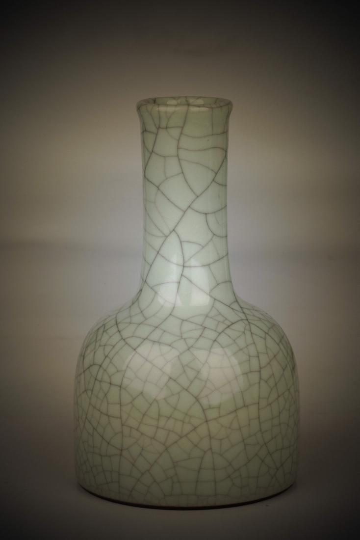 Chinese imitation glaze flask