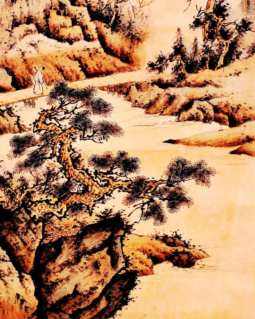 Chen ShaomeiI (CHINESE INK WASH SCROLL PAINTING) - 3
