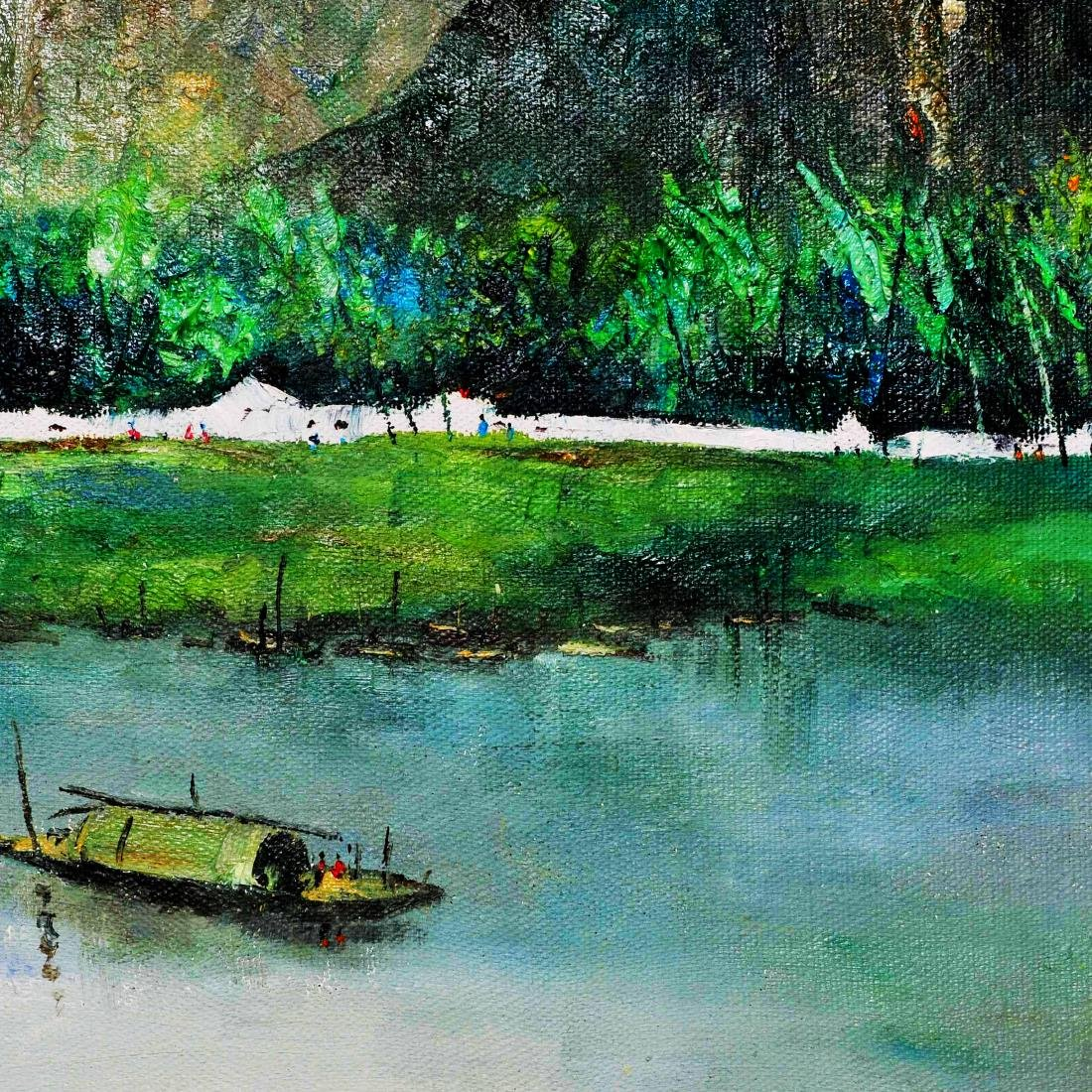 Attributed to Wu Guanzhong (OIL PAINTING) - 2