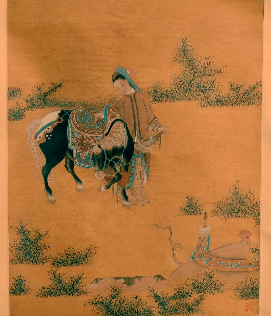 A Chinese Scroll Painting ( Anonymous ) - 2
