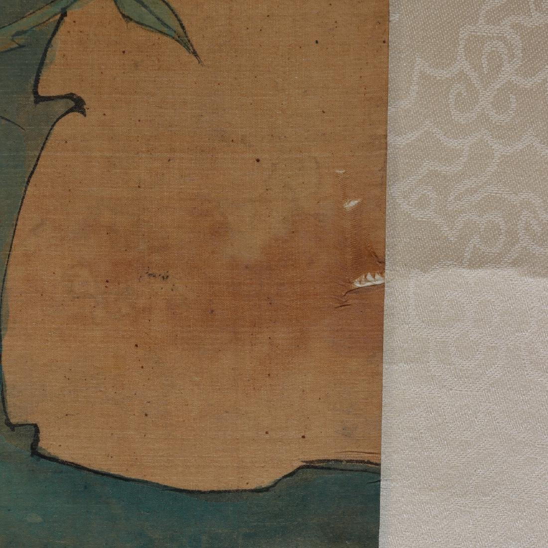 Attributed to Zhang Xiong (CHINESE SILK PAINTING) - 3
