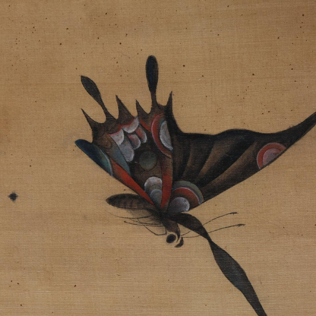Attributed to Zhang Xiong (CHINESE SILK PAINTING) - 4