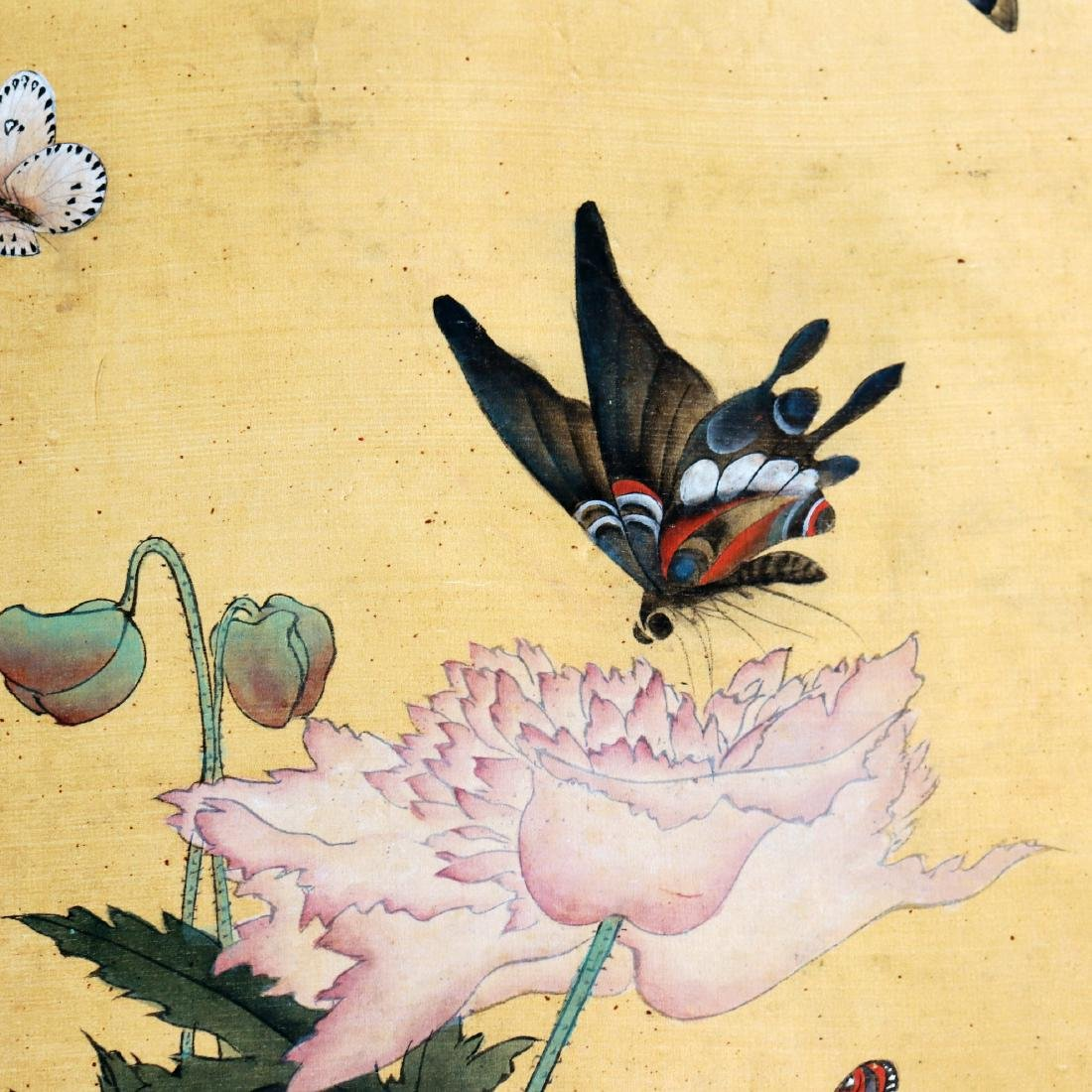 Attributed to Zhang Xiong (CHINESE SILK PAINTING) - 7