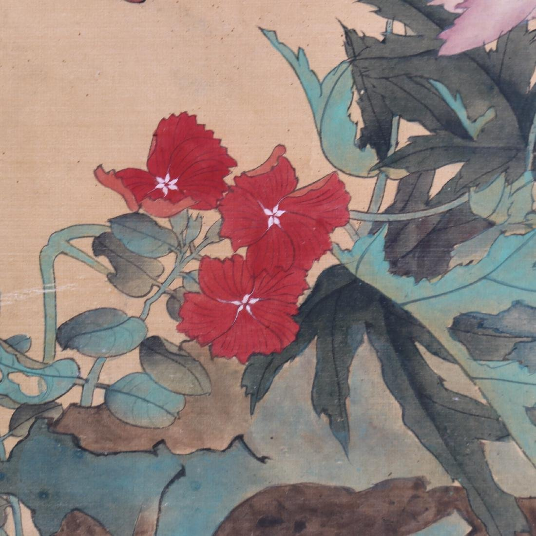 Attributed to Zhang Xiong (CHINESE SILK PAINTING) - 8