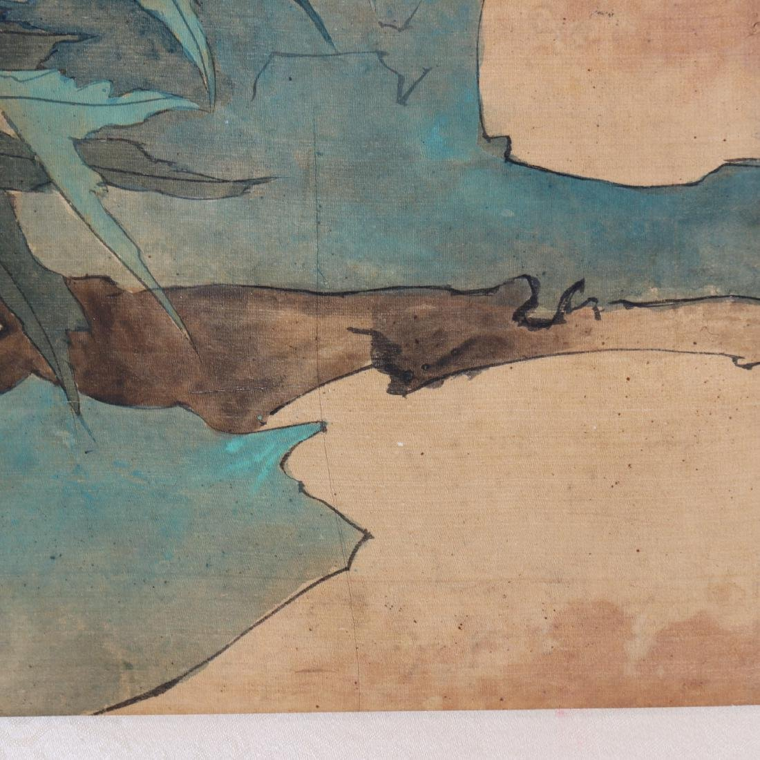 Attributed to Zhang Xiong (CHINESE SILK PAINTING) - 9