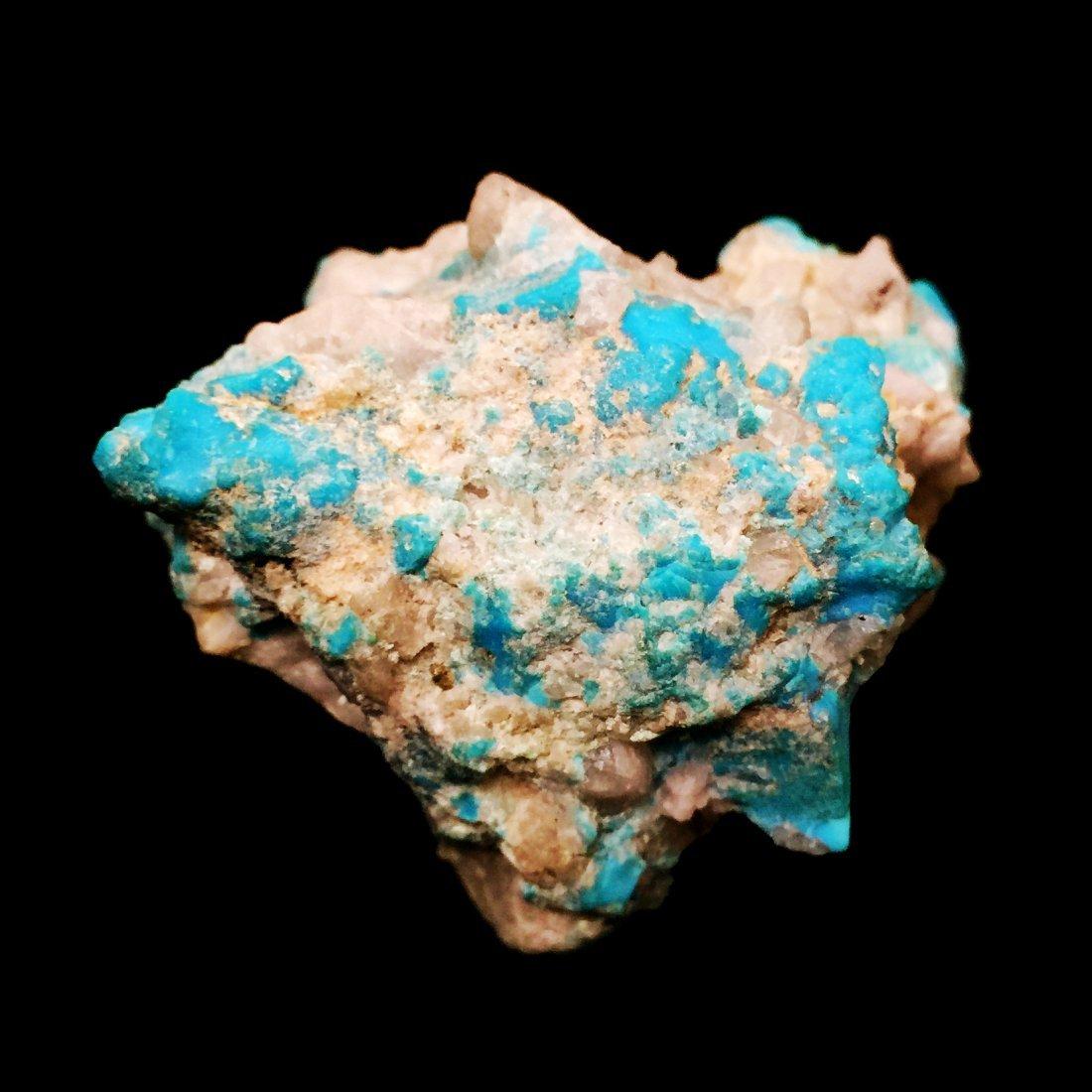 AN ARIZONA NATURAL TURQUOISE ORE - 2
