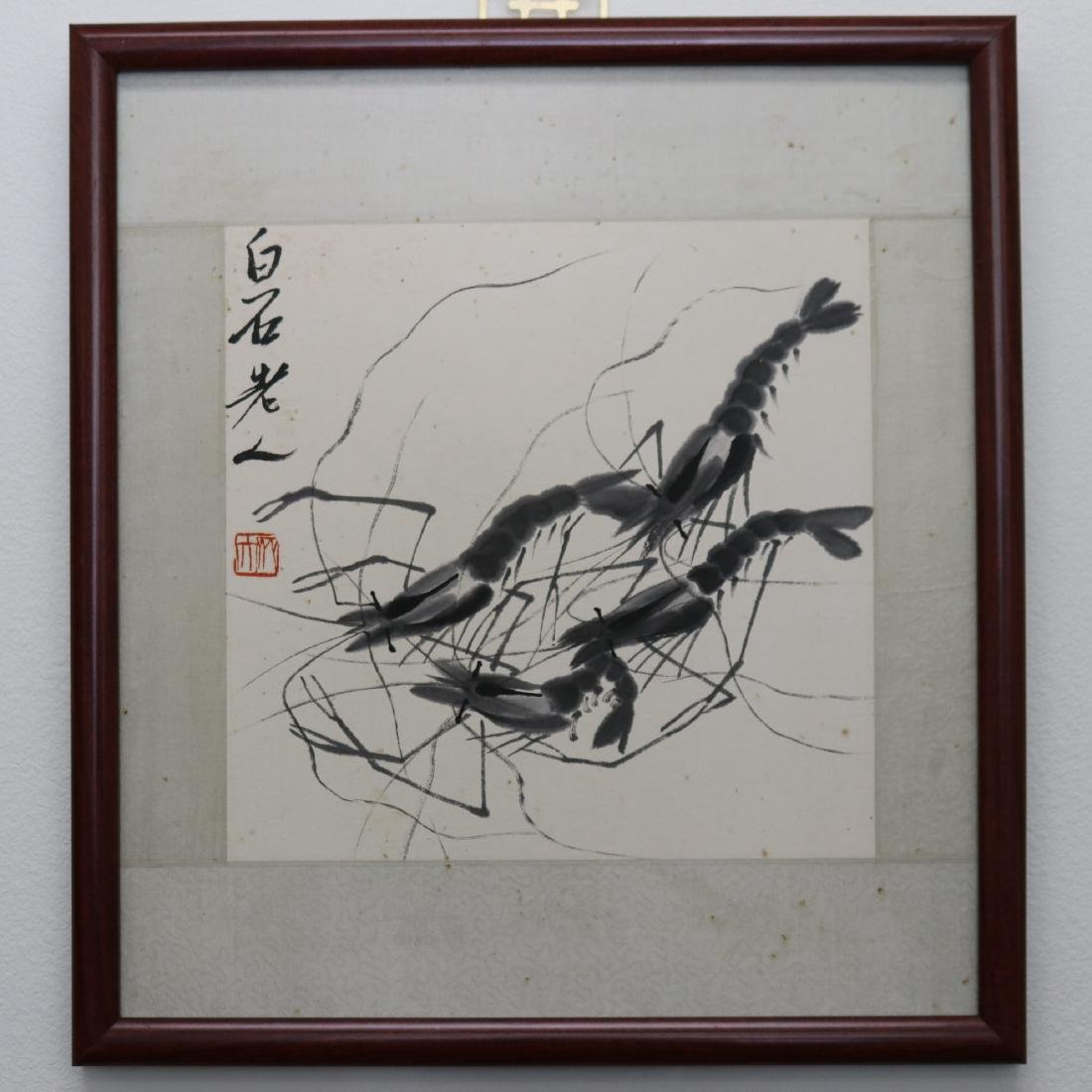 A Chinese Ink and Color Painting, Qi Baishi