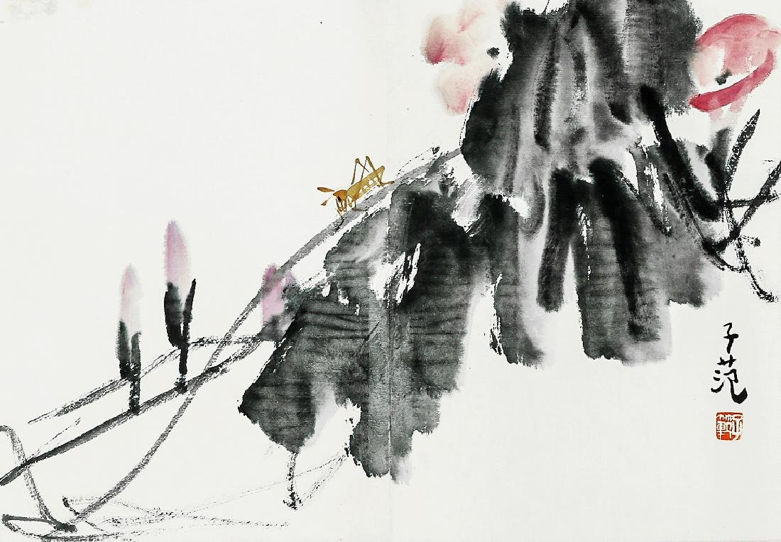 A Chinese Ink and Color Painting, Cui Zifan