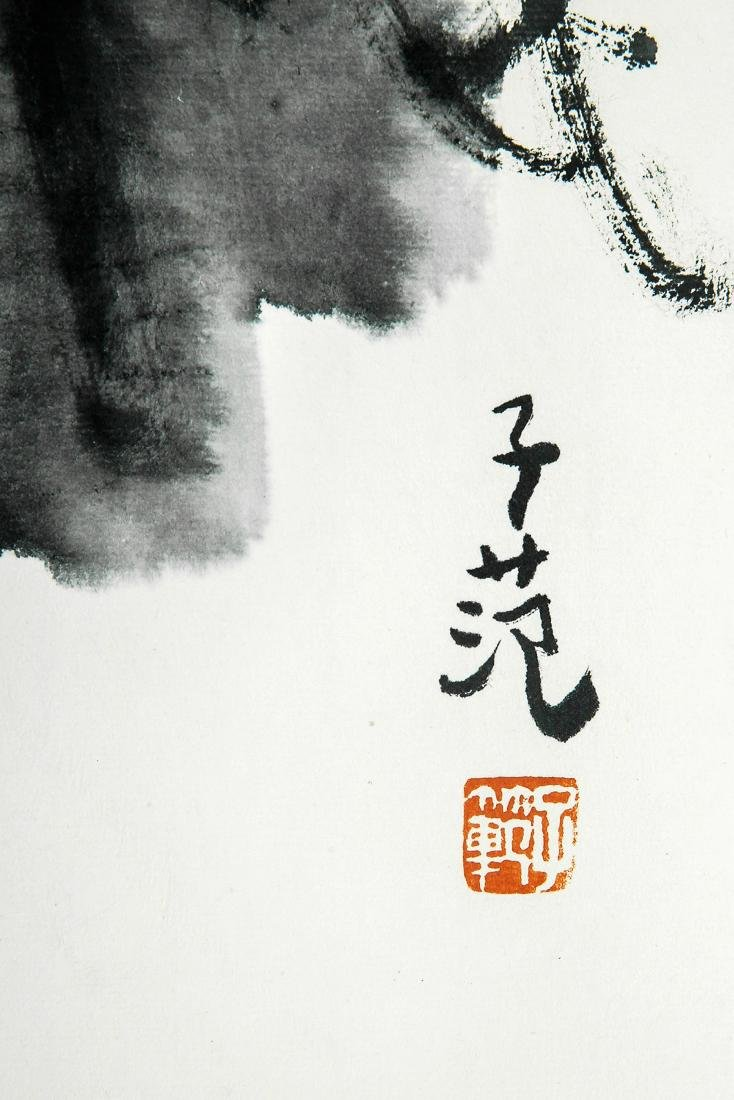A Chinese Ink and Color Painting, Cui Zifan - 2