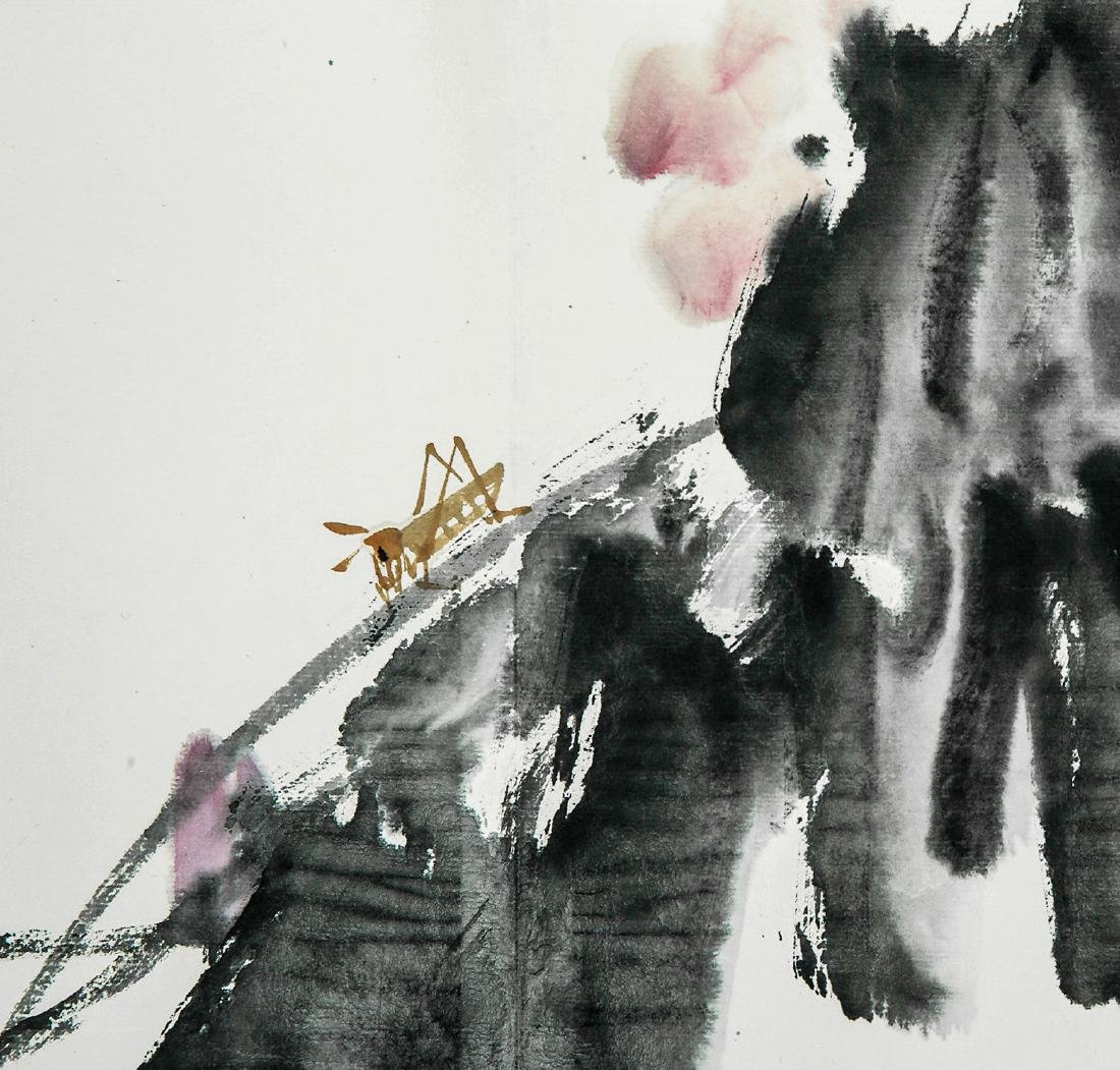 A Chinese Ink and Color Painting, Cui Zifan - 5