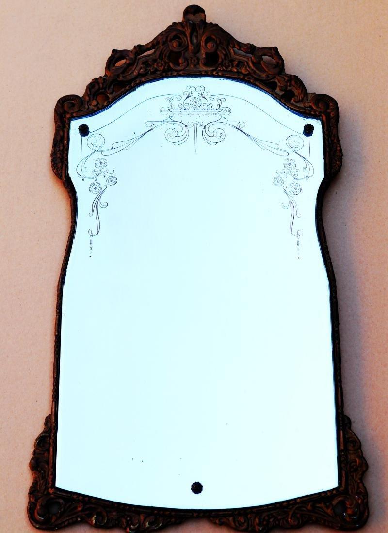 Antique Fancy French Art  Maestro Mirror