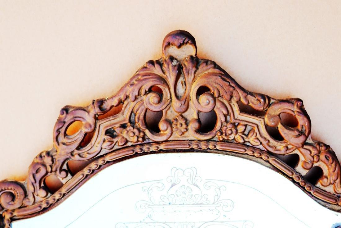 Antique Fancy French Art  Maestro Mirror - 2