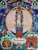 Tibetan thangka - print ?