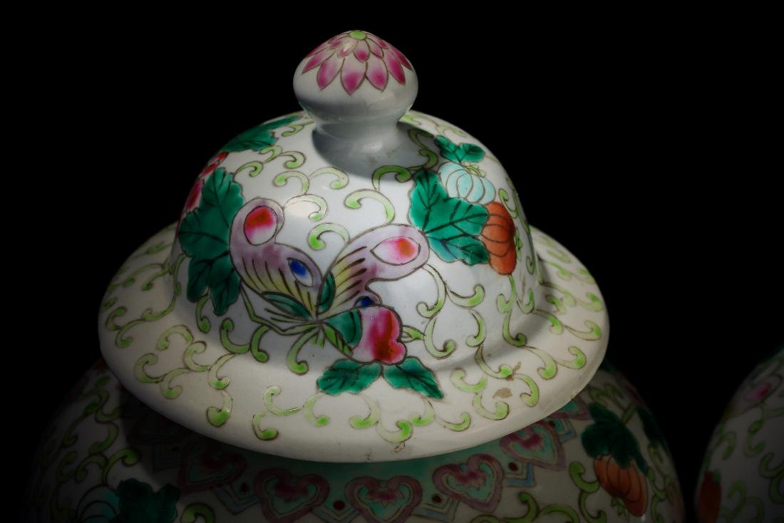 Qing Dynasty Kangxi Period Porcelain General Tank - 2