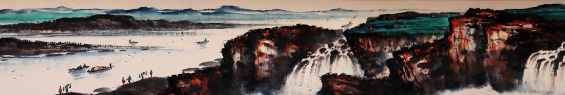 Attributed to Shi Lu (Chinese Scroll Painting) - 3