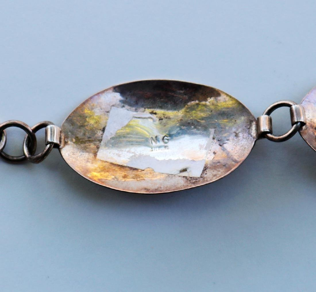 N.G. Silver and Beauty Turquoise Necklace / Belt 100g - 7