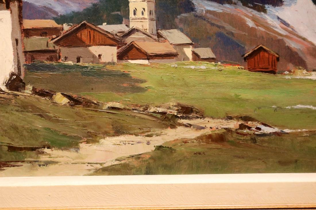 Original Signed by Charles Henry Contencin Oil /Canvas - 4
