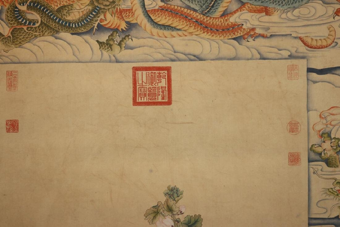 Chinese  Scrolling Painting, Attribute to Lang Shining - 3