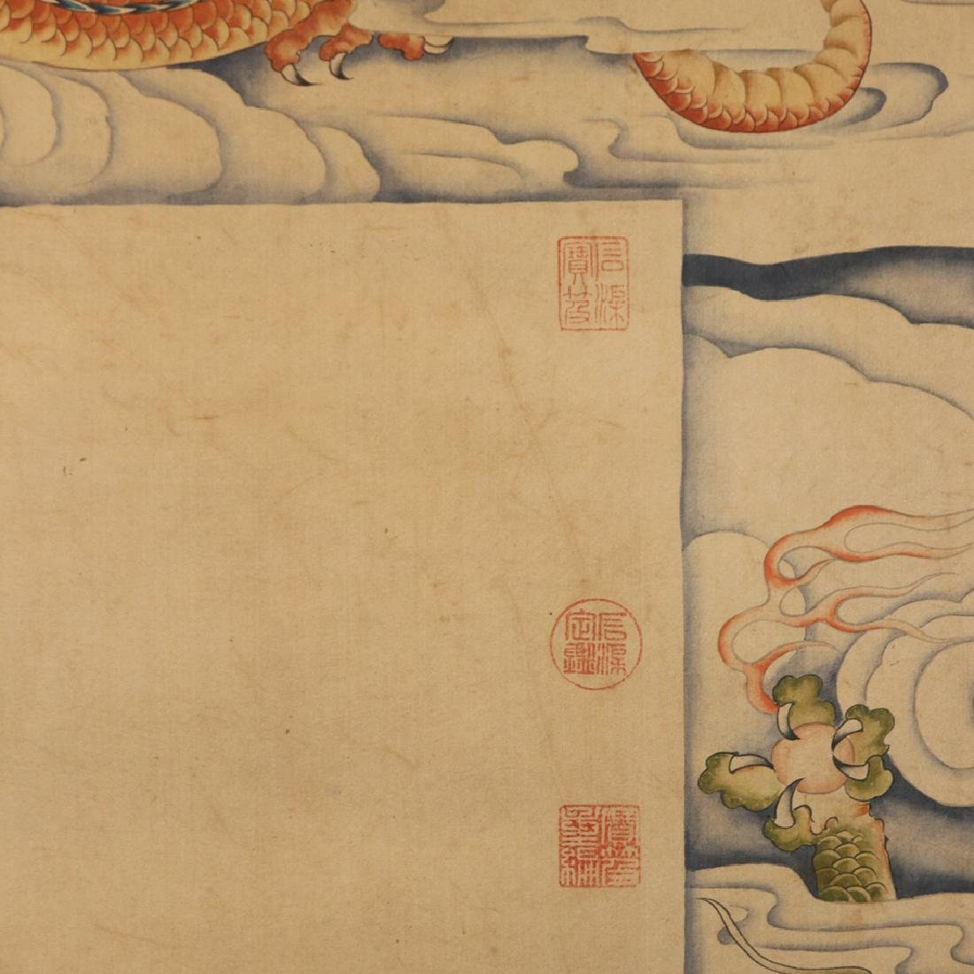 Chinese  Scrolling Painting, Attribute to Lang Shining - 4